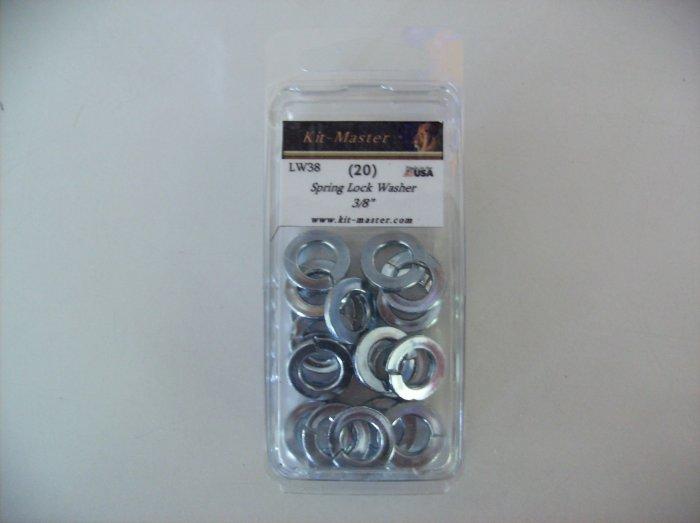 """Kit-Master 3/8"""" Spring Lock Washer LW38"""