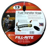 "FRH07512 Fill-Rite 3/4"" x 12 Ft  Fuel Tank Transfer Pump Hose"