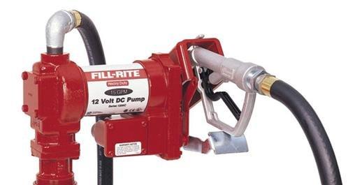 FR2410G Tuthill/FillRite 24vDC 15 GPM Pump Gasoline/Diesel Fuel Tank Transfer Pump