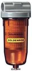 """56599 (495) Goldenrod 1"""" Npt Fuel Tank Filter Assembly (Diesel & Gasoline)"""