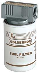 """56592 (595-3/4"""") Goldenrod 3/4"""" Fuel Tank Filter Assembly (Diesel & Gasoline)"""