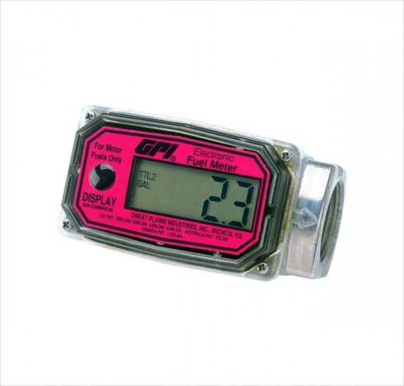 113700-02 GPI 01A31GMME  Methanol Meter 3-30 GPM