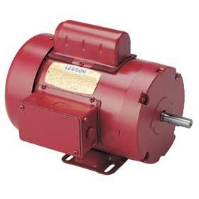 110086 Leeson 1/2 Hp 1725 Rpm Electric Motor M6C17FB11J
