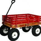 """600 SpeedWay Express 24"""" x 40"""" Amish Made Toy Wagon 1100#"""