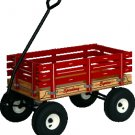 "128 SpeedWay Express 19"" x 33"" Amish Made Toy Wagon 800#"