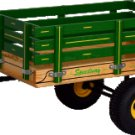 """MC2 SpeedWay 19"""" x 33"""" BIG Trailer with Rack Sides Amish Made Wagon"""