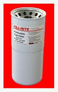 F4030PMO FillRite 40 Gpm Hi-Flo Fuel 30 Micron Particlate Filter