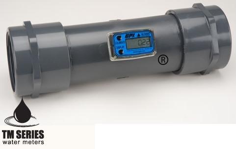 """TM400-N GPI 4"""" Npt (Female) 60-600 Gpm Digital Water Flow Meter"""