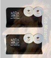R119-2 Rada Cutlery Quick Edge Knife Sharpener with Hardened Steel Wheels (Pack of 2)