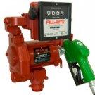 FR711VA FillRite 115vAC 20 GPM Pump,Meter,Auto nozzle