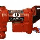 FR1204G Fillrite 12vDC 15 GPM Pump Only