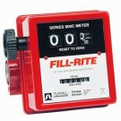 "807CL1 Fillrite 19-76 Lpm 3 Wheel Meter 1"" Npt"