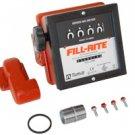 """901LMK300 Fillrite 23-151 LPM 1"""" Meter 300V pumps"""