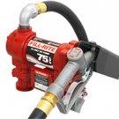 FR4410G Tuthill/FillRite 24vDC 20 GPM Pump Gasoline/Diesel Fuel Transfer Tank Pump