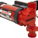 FR3204 Fillrite 12vDC 25 GPM Ultra High Flow Pump Only