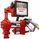 FR4211GL Fillrite 12vDC Hi-Flow Pump 76 LPM Meter Manual Nozzle