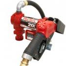 FR4210GB FillRite 12vDC Hi-Flo 20 GPM Pump Auto Nozzle