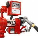 FR2411GL Tuthill/FillRite 24vDC 57 LPM Pump Diesel/Gas Transfer Pump