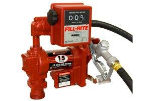 FR2411GEL Tuthill/FillRite 24vDC 57 LPM Diesel/Gas Transfer Pump/Liter Meter (BSPP)