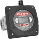 "900DPX1.5 Fillrite  Digital Fuel Meter 1-1/2"" inlet/outlet 6-40 GPM"