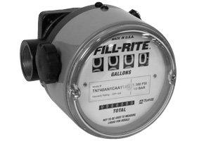"TN740AN1CBA1LAI FillRite 1"" BSPT 2-38 LPM Oil Nutating Disc Meter"