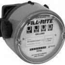 "TN860AN1CAB1LAC FillRite 1-1/2"" NPT 23-230 LPM Fuel Nutating Disc Meter"