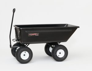 2600 Lapp Poly Dumper 8 ft³ Wheel Barrow/Wagon