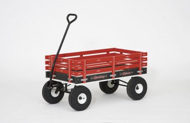 "320 SpeedWay 19"" x 33"" (Plastic Bed) Amish Made Toy  Wagon 800#"