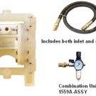"1037 Zeeline 1:1 Air Diaphragm Pump 14 Gpm 1/2"" Npt 1/16 Solids"