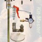 1213R Zeeline 60:1 Air Grease Pump System 120 lb