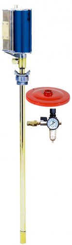 1214A Zeeline 55:1 Air Grease Pump System 120 lb