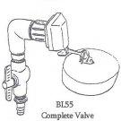 BL55 Complete Valve Assembly Lapp Waterer