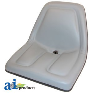 TM333GR Universal replacement tractor seat GRAY