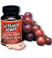 Grape Seed Extract 90 mg - 30 Capsules