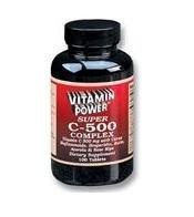 Super C 500 mg Complex - 100 Tablets