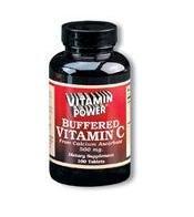 Buffered C 500 mg Calcium Ascorbate - 100 Tablets