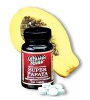 Super Papaya - 100 Chewable Tablets
