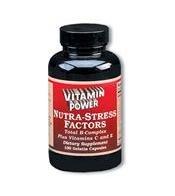 Nutra Stress Factors (Vit C-B Complex) - 100 Capsules