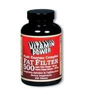 Fat Filter 500 Fruit Enzyme Complex - 100 Tablets
