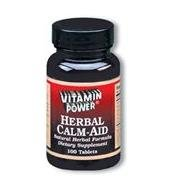 Herbal Calm Aid (with Valerian Root Extract) - 100 Tablets