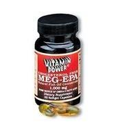 Meg EPA Caps (Maximum Omega 3 Fatty Acids) - 30 Capsules