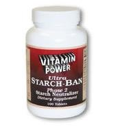 Ultra Starch Ban Phase 2 - 100 Tablets