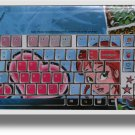 COMPUTER KEYBOARD  DESKTOP/  LAPTOP  SKINS  GIRL
