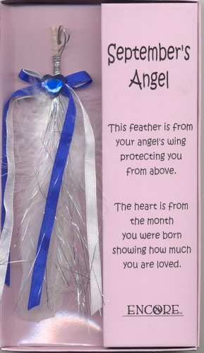 AN ANGEL'S TOUCH FEATHER  -   SEPTEMBER BIRTHDAY