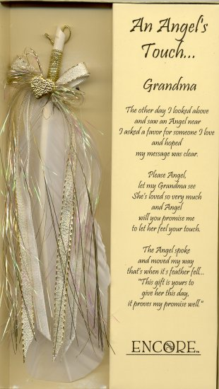 AN ANGEL'S TOUCH FEATHER   -    GRANDMA