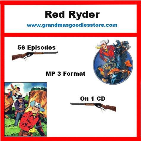 OLD TIME RADIO SHOWS RED RYDER 56 EPISODES   OTR