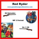 OLD TIME RADIO SHOWS RED RYDER 56 EPISODES   OTR