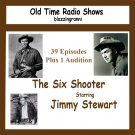 OLD TIME RADIO OTR  THE SIX SHOOTER  40 EP OTR