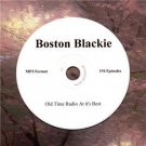 OLD TIME RADIO SHOWS   BOSTON BLACKIE 194  EPISODES  OTR