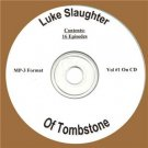 OLD TIME RADIO SHOWS LUKE SLAUGTER OF TOMBSTONE  16  EPISODES